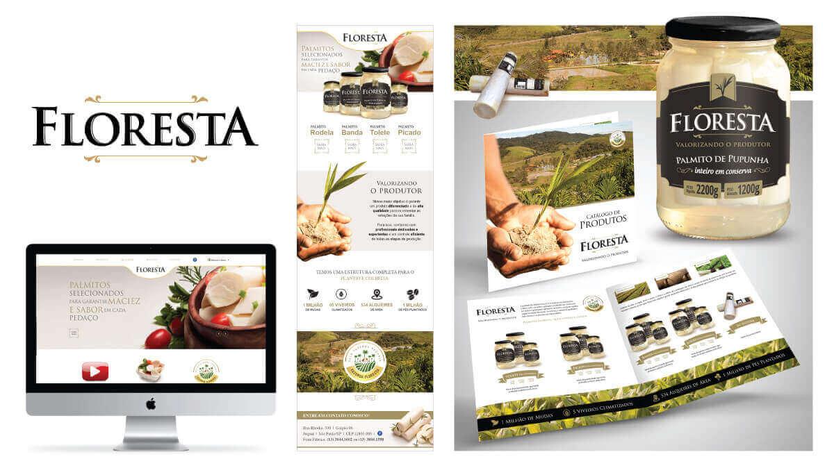 PALMITO FLORESTA  - Destaque para linha de produtos